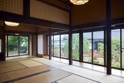 室内 - 甘糟屋敷 庭園付き日本建築の室内の写真