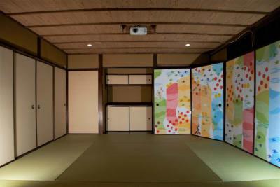 和室部分約8畳 - Studio lamipass レンタルスタジオスペースの室内の写真