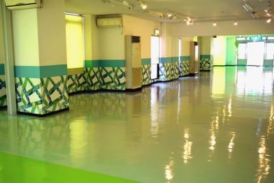 3F フロア ※基本的には3Fの貸し出しがメインです。 - スタイルフレーバー小倉校 ダンススタジオ・レンタルスタジオの室内の写真