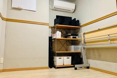 動画撮影、楽器練習に最適の防音スタジオです。 - PSQ studio 1名〜少人数用の防音スタジオの室内の写真