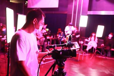 パームス秋葉原 無観客・配信LIVEに最適フロアの設備の写真