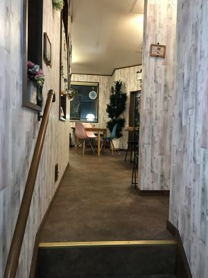 imacoco coffee 2Fフロアの室内の写真