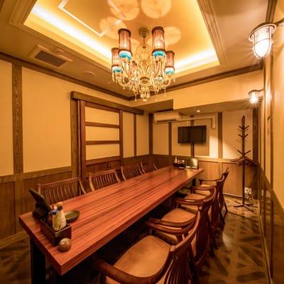8名様個室 - まぐろ商店 多目的スペース(~8名)の室内の写真