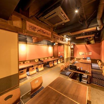 35名収容可能な大座敷 - まぐろ商店 多目的スペース(~35名:座敷)の室内の写真