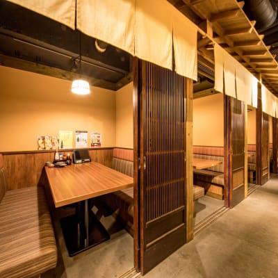 ~4名個室 - まぐろ商店 多目的個室5(~4名)の室内の写真