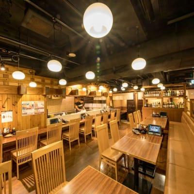 カウンターキッチン - まぐろ商店 レンタルキッチンの室内の写真