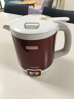 湯沸し器があります。 なお急須、コップ、茶碗、お水はありませんので持参してくださ - 株式会社マインドソフト ああまんぷく堂の設備の写真