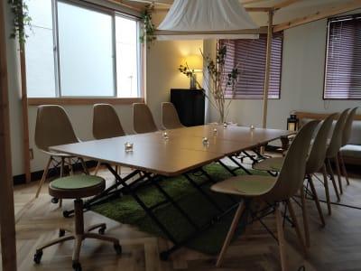 キャンドル Sabori 神楽坂 貸切、貸会議室、撮影、パーティー、オフィス - Sabori 飯田橋 302 多目的レンタルスペースの室内の写真