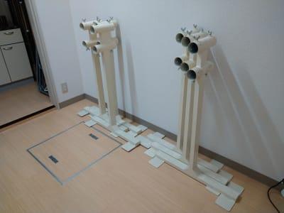 DWM 70㎡、鏡、リノリウム完備の設備の写真