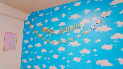 お誕生日会用ガーランド - Sky 日本橋の室内の写真