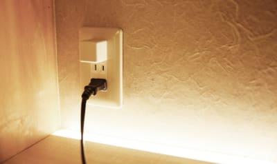 USBコンセントも完備 - hotelzentokyo ワーキングブース #2の室内の写真