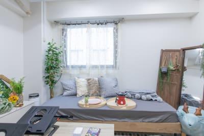 111_Oasis池袋 キッチンスペースの室内の写真