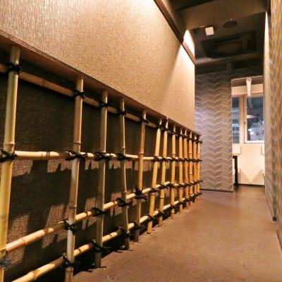 ミートインクラフト会議室 ダイニング会議フロアの入口の写真