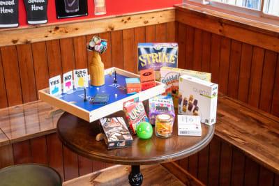 使用可能なボードゲームたち - and you レンタルキッチンの室内の写真