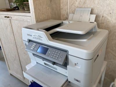 白黒印刷は1日5枚まで無料サービス。 - PLAT295  コワーキングスペース -3の設備の写真