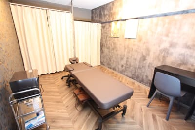 ShareSalonBP表参道店の室内の写真