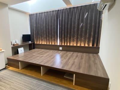部屋面積25㎡、フロア面積6~7㎡(フローリング部分) - CULTI EARL HOTEL 家具なしレンタルスペース1の室内の写真