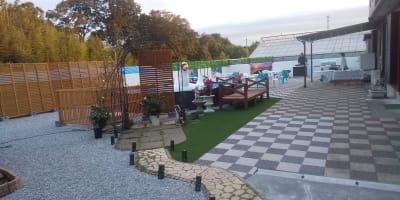 Cat Villa 川島町 Poolside BBQ の室内の写真