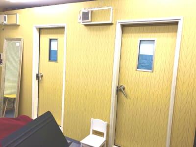 防音室入り口 - ブリアサロン用賀駅 南口徒歩1分 防音室B(ピアノ)【WIFI】の室内の写真