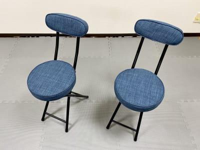 折り畳み椅子×2 - ダンススタジオ 学生応援【格安】ダンススタジオのその他の写真