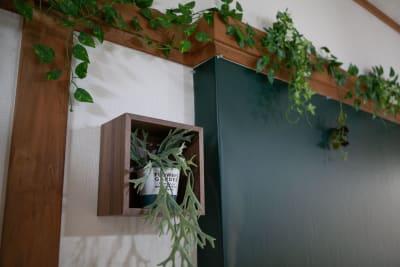 ●2階ナチュラルカフェ黒板 - 東京・王子「アイビーカフェ王子」 2階ナチュラルカフェ/約5畳の室内の写真