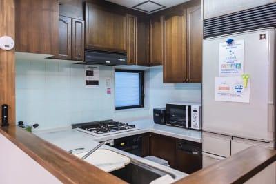 キッチン - 葵禅カフェ&バー 最上階の和風広々空間401の室内の写真