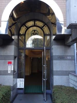アインズビル梅田 貸会議室の入口の写真
