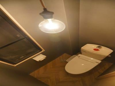 お手洗いは毎日清掃を行っており、清潔にご利用いただけます。 - HaNaLe三鷹台駅会議室 個別デスク席①の設備の写真