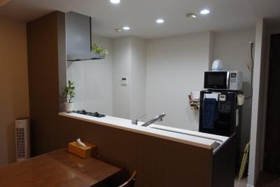 川口市kawaguchi レンタルリビングの設備の写真