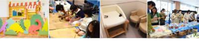 キッキプラス カフェ、貸スペースの設備の写真