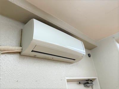 エアコン - れんたるスタジオMINT レンタルスタジオ 1階の設備の写真
