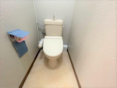 男女共用トイレ - れんたるスタジオMINT レンタルスタジオ 1階の設備の写真