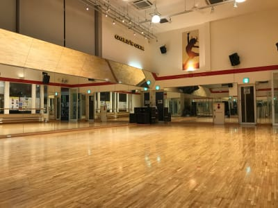 ゴールドジム原宿東京 レンタルスタジオの室内の写真