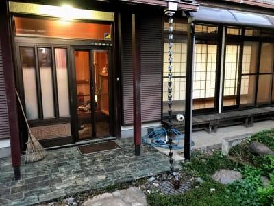 大宮台ひだまりと本の家 洋室の入口の写真