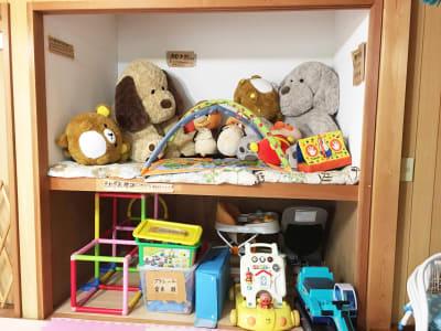 カフェ御結(おむすび) 子連れでも安心多目的スペースの設備の写真