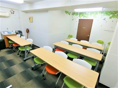 レイアウト変更自由な会議室です。 - 水道橋Ⅱ(稲葉ビル) INB-301の室内の写真