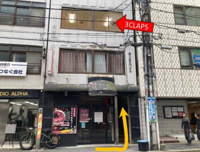 3Fが3CLAPSです。 - レンタルスタジオ 3CLAPS 広島レンタルスタジオの外観の写真