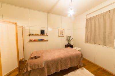 内観 - リラクゼーション suisai レンタルサロンの室内の写真