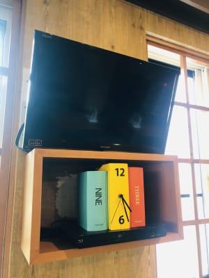 Blueray対応DVDプレイヤー完備。 - Emon's chouchou イベントスペース、ダンススタジオの設備の写真