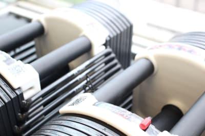 可変式ダンベル40kg - シェアジム 完全個室シェアジムの設備の写真