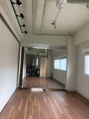 ダンス練習スベース - wingsky Tokyo 9号室(3j時間~)の室内の写真