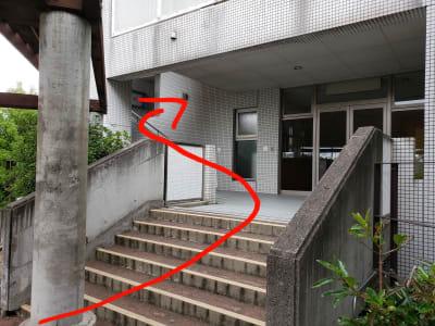 レンタルスタジオBigTree 和泉和気店 Aルームの入口の写真