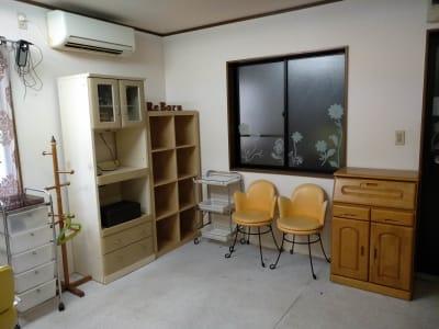 Rebornサロンスペース:待合、収納、エアコン完備  - Reborn サロンスペースの室内の写真
