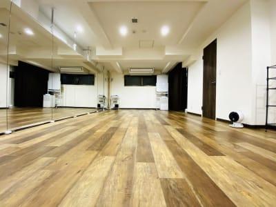 Studio Face ダンスのできるレンタルスタジオ の室内の写真