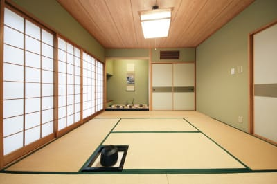 浅草茶華の室内の写真