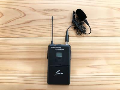 ピンマイク(SOUND PURE) - min-pack pack02の設備の写真