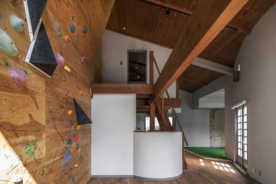 ボルダリングスペース - PHYSIO レンタルスペースの室内の写真