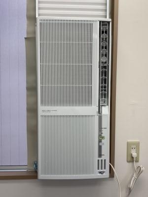 新しいエアコン(冷暖房機能)に取り替えました。  - アーバンスペース秋葉原の室内の写真