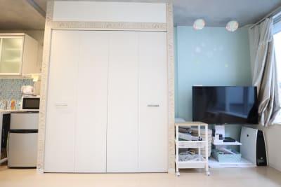 スタジオ メインスペース クローゼット側 - スタジオAXI 原宿店 スタジオAXI エトワール原宿の室内の写真