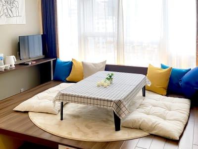 日当たり抜群のお部屋です! - CULTI EARL HOTEL 家具ありレンタルスペース1の室内の写真